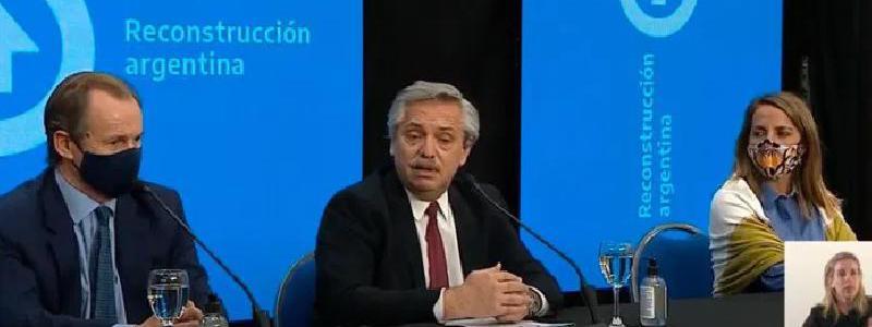 Alberto Fernández criticó el rol de la oposición durante la pandemia y a los medios