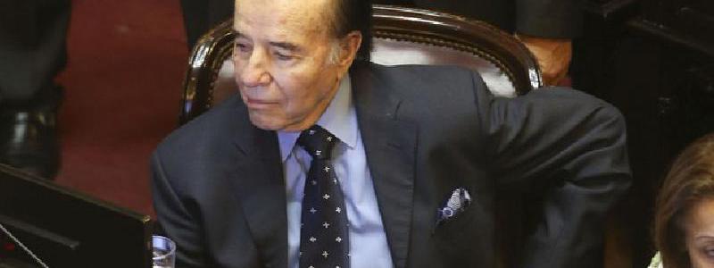 Identificaron al presunto ladrón que robó el anillo de Carlos Menem