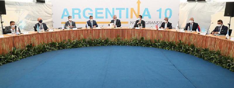 Corrientes: Quintela participó del Tercer Encuentro de Gobernadores del Norte Grande